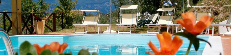 Gardasee Pension mit Pool